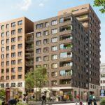 Betonmast bygger bostäder åt Balder på Kungsholmen.